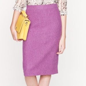 Jcrew herringbone wool no 2 pencil skirt